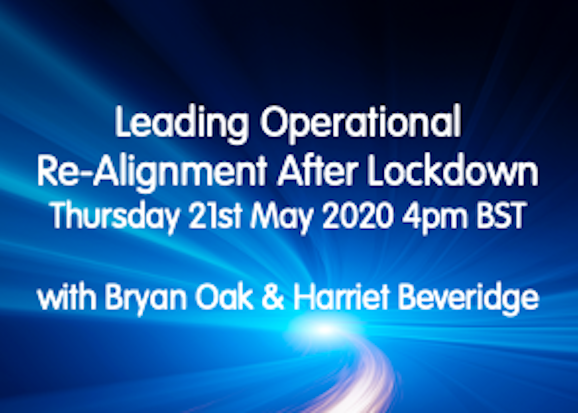 Webinar: Leading Operational Re-Alignment After Lockdown